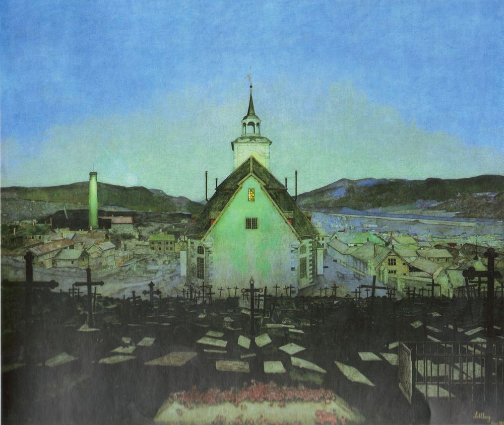 Natt (1904), Harald Sohlberg