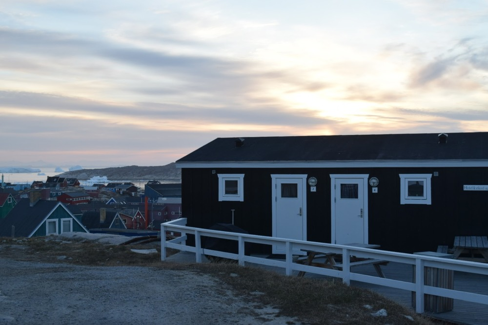 Icefiord Apartments, where I spent three cosy nights during my time in Ilulissat.