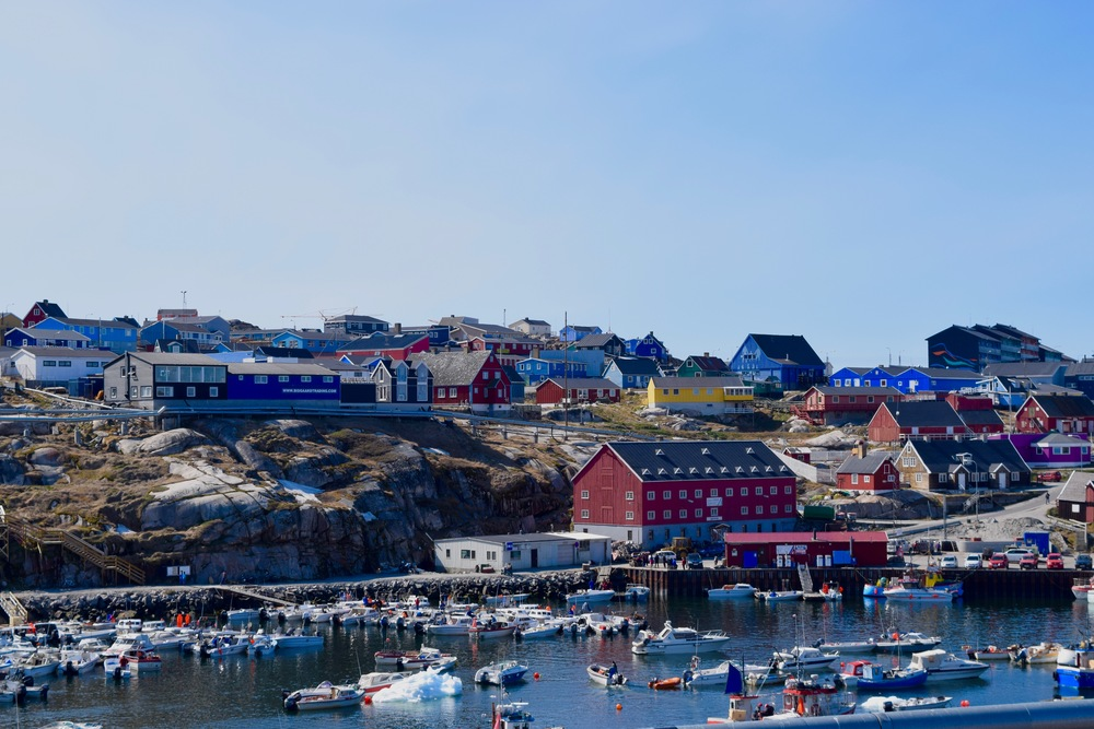 Ilulissat: very much a fishing town (better yet, a colourful one).