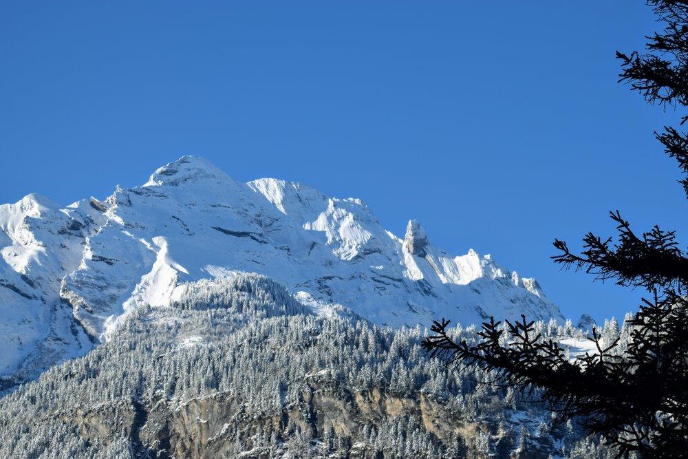 The Engelhörner mountain range.